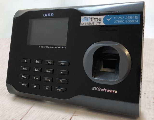 Biometric Fingerprint Time Attendance Recorder