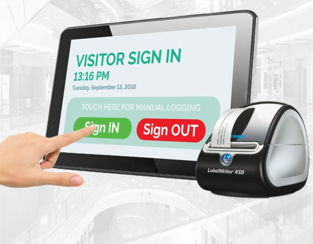 Alpha Entry Visitor Management System