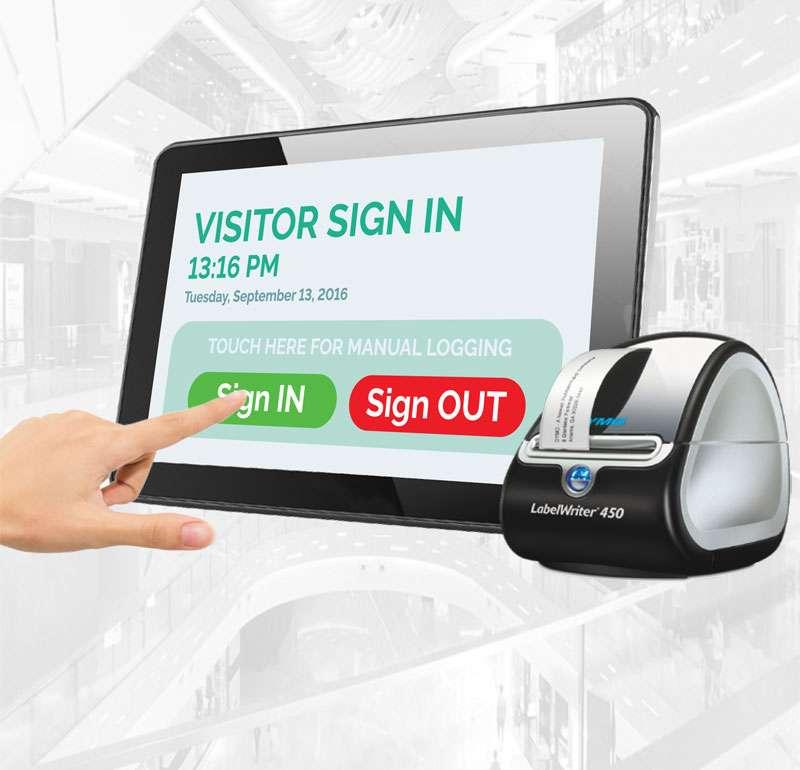 Alpha Entry Visitor Management System