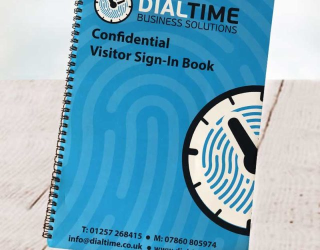 GDPR Visitor book | Visitor sign in book