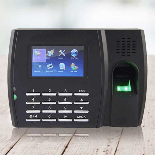 fingerprint proximity clock